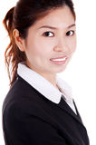 asiatiska affärskvinnor Arkivbild
