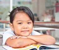 asiatiska barn Arkivbild