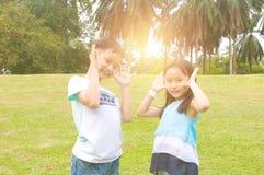 asiatiska barn Royaltyfria Foton