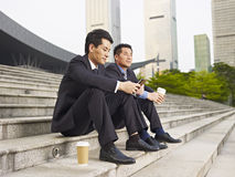 Asiatiska businesspeople Royaltyfri Fotografi