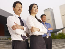 Asiatiska businesspeople Royaltyfria Foton