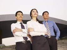 Asiatiska businesspeople Arkivbilder