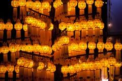 asiatiska festivallyktor Royaltyfri Foto