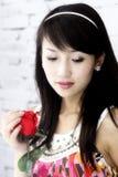 asiatiska flickaro Royaltyfri Foto