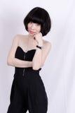 Asiatiska flickor Arkivfoto