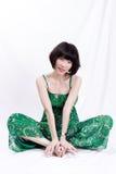 Asiatiska flickor Arkivbild