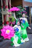 Asiatiska flickor arkivbilder