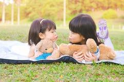 Asiatiska flickor royaltyfria foton