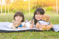 Asiatiska flickor arkivfoton