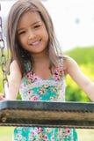 asiatiska flickor little Arkivbilder