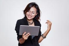 Asiatiska funktionsdugliga kvinnor Arkivfoton