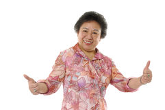 asiatiska höga kvinnor Royaltyfri Bild