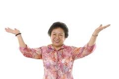asiatiska höga kvinnor Arkivbild