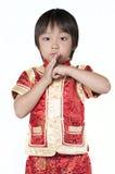 Asiatiska kinesiska barn Arkivfoton