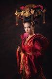 Asiatiska kinesiska kvinnor Royaltyfri Foto