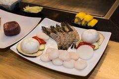 asiatiska kokkonstingredienser Royaltyfri Bild