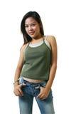 asiatiska kvinnor royaltyfria bilder