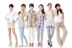 Asiatiska kvinnor Royaltyfria Foton