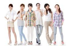 Asiatiska kvinnor Arkivfoto