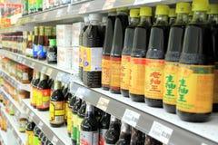 Asiatiska livsmedelsprodukter Royaltyfri Fotografi