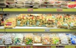 Asiatiska livsmedelsprodukter Royaltyfria Foton
