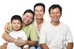 Asiatiska män Fotografering för Bildbyråer