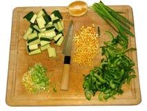 Asiatiska matlagningförberedelser royaltyfri bild