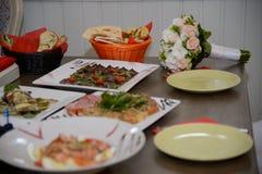 Asiatiska och orientaliska kokkonster Arkivbild