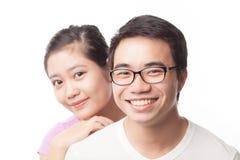 Asiatiska par Fotografering för Bildbyråer