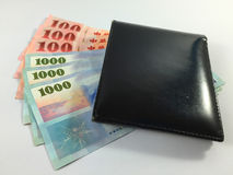 asiatiska pengar Arkivfoton