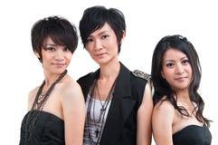 Asiatiska popflickor arkivbilder
