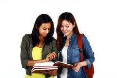 Asiatiska studenter Royaltyfri Bild