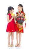 asiatiska ungar Arkivbild
