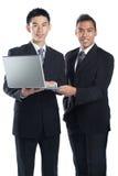 asiatiskt affärspartnerlag Fotografering för Bildbyråer