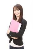 asiatiskt affärskvinnabarn Arkivbild