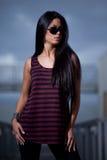 asiatiskt attraktivt twentieskvinnabarn Royaltyfri Bild