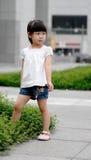 asiatiskt barn Fotografering för Bildbyråer