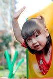asiatiskt barn Arkivfoto