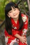 asiatiskt barn arkivbild