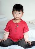 asiatiskt barn Arkivbilder