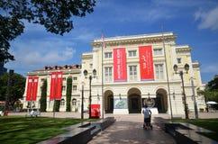 Asiatiskt Civilisationsmuseum i Singapore Fotografering för Bildbyråer
