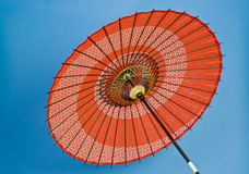asiatiskt dekorativt paraply Fotografering för Bildbyråer