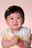 asiatiskt flickabarn Arkivbilder