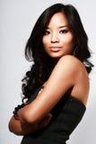 asiatiskt härligt model barn Fotografering för Bildbyråer