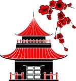 Asiatiskt hus Royaltyfri Bild