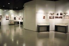 Asiatiskt kines-, Peking-, kvinna- och barns museum, inomhus mässhall Royaltyfri Bild