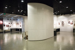 Asiatiskt kines-, Peking-, kvinna- och barns museum, inomhus mässhall Royaltyfria Bilder