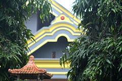 asiatiskt klassiskt staket Royaltyfria Foton