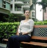 asiatiskt kvinnabarn Royaltyfri Bild