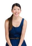 asiatiskt kvinnabarn Arkivfoto